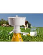 Milk separators
